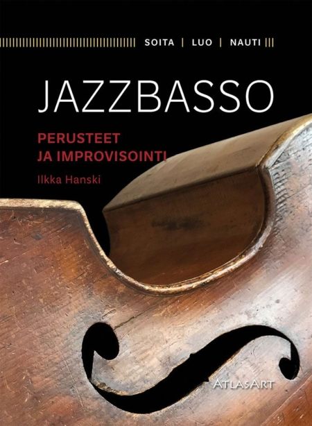 Jazzbasso kirjan kansikuva