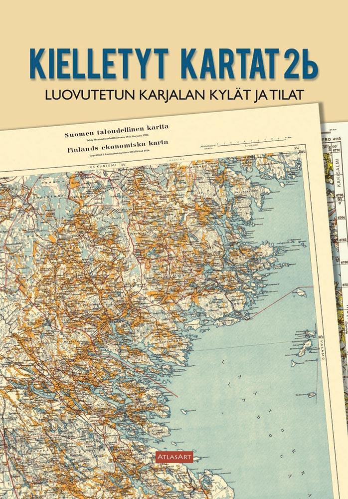 Kielletyt Kartat 2b Luovutetun Karjalan Kylat Ja Tilat