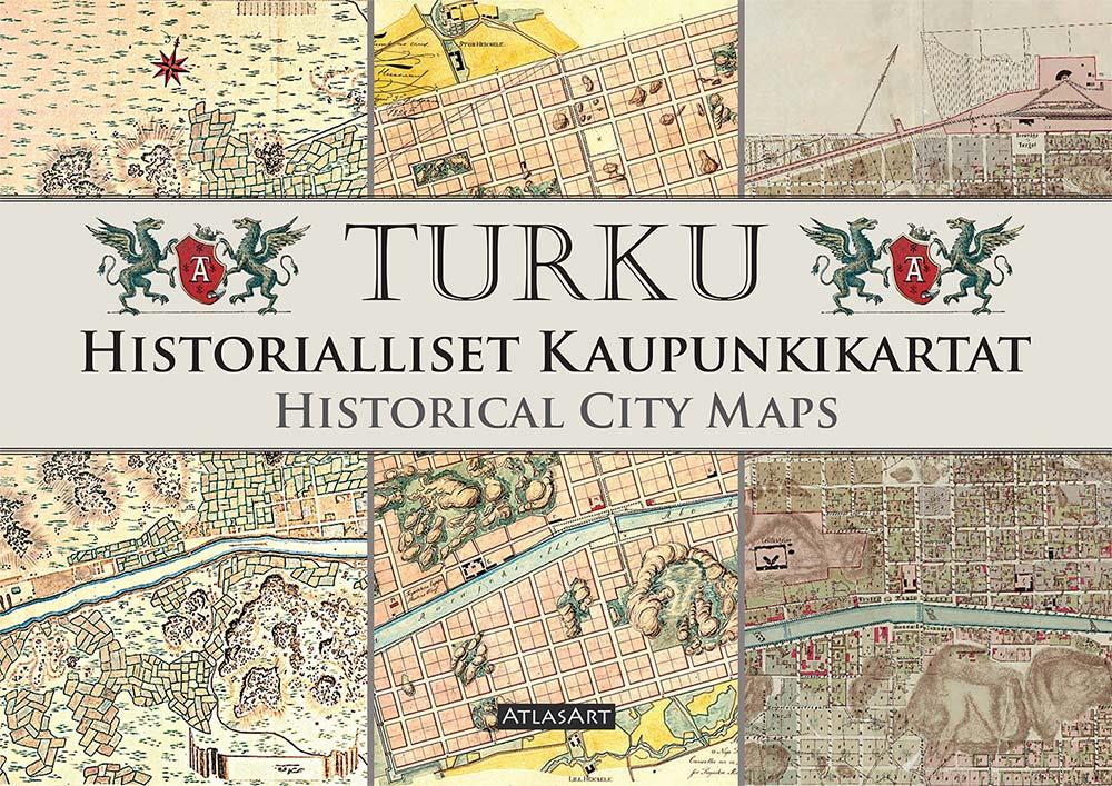 Turku Historialliset Kaupunkikartat Kustannusosakeyhtio Atlasart